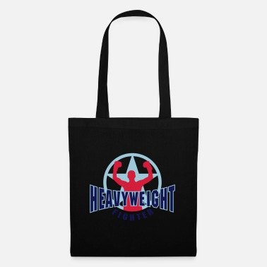 Heavyweight heavyweight fighter - Tote Bag