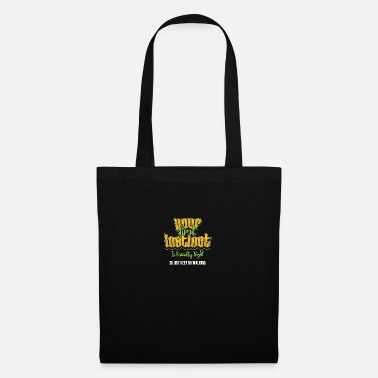 Instinct feeling forethought heart sense saying gift - Tote Bag