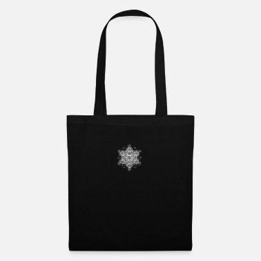 Yoga Metatrons Super Structure White - Tote Bag