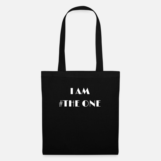 Uno Borse & Zaini - I AM # THE ONE - Borsa di stoffa nero