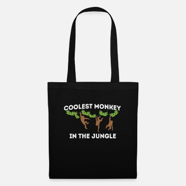 Bush Cool Monkey Monkey - Torba z tkaniny