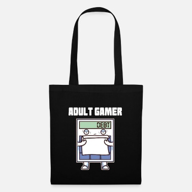 Adult Adult Gamer Adult Calculator - Tote Bag
