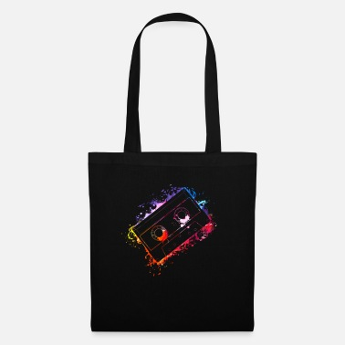 Boom Box 80s 90s Retro Cassette Tape Vintage Mixtape Gifts - Tote Bag