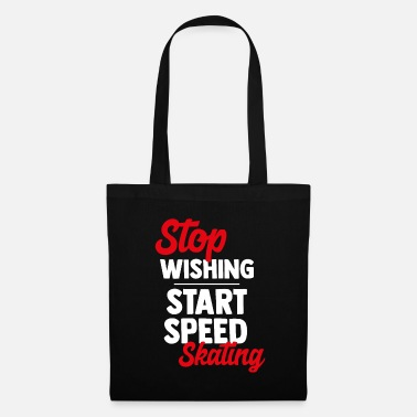 Gaming Speed skating speed skating ice skate gift - Tote Bag