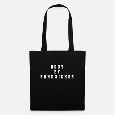 Fast Food Sandwich baguette ham cheese tomato cucumber sub - Tote Bag