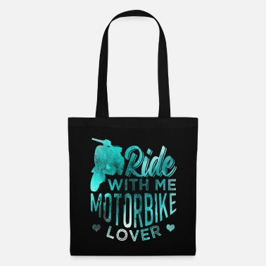 Chopper motorcycle - Tote Bag