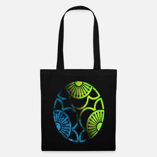 Symbol  Bags & Backpacks - Crop circles - Tote Bag black