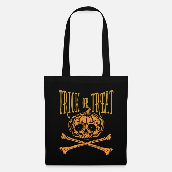 Pirate Bags & Backpacks - Halloween pirate - Tote Bag black