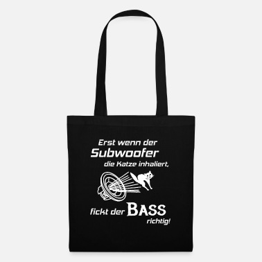 Hifi Car Hifi - Subwoofer Cat, Hifi Shirt Bass Lover - Stoffentas
