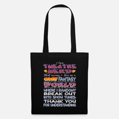 Musical Theatre Nerd - Tote Bag