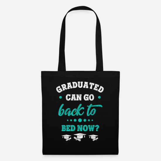Exam Bags & Backpacks - diploma - Tote Bag black