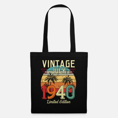 Vintage Vintgae July 1940 Limited Edition - Tote Bag