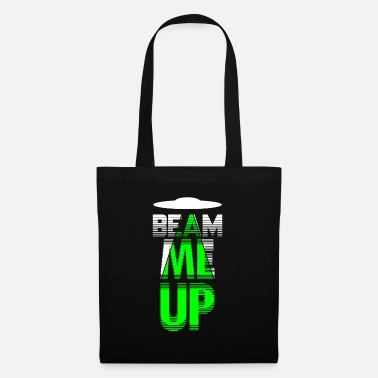 Government Beam Me Up Shirt Alien Conspiracy Kidnapping Size - Tote Bag