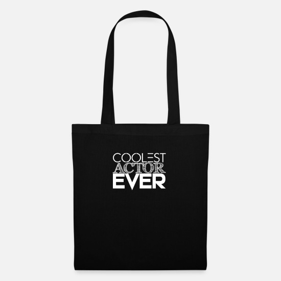 Gift Idea Bags & Backpacks - actor - Tote Bag black