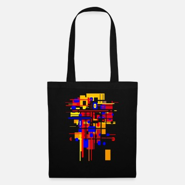 Grafitti Bauhaus construction site - architecture design - Tote Bag