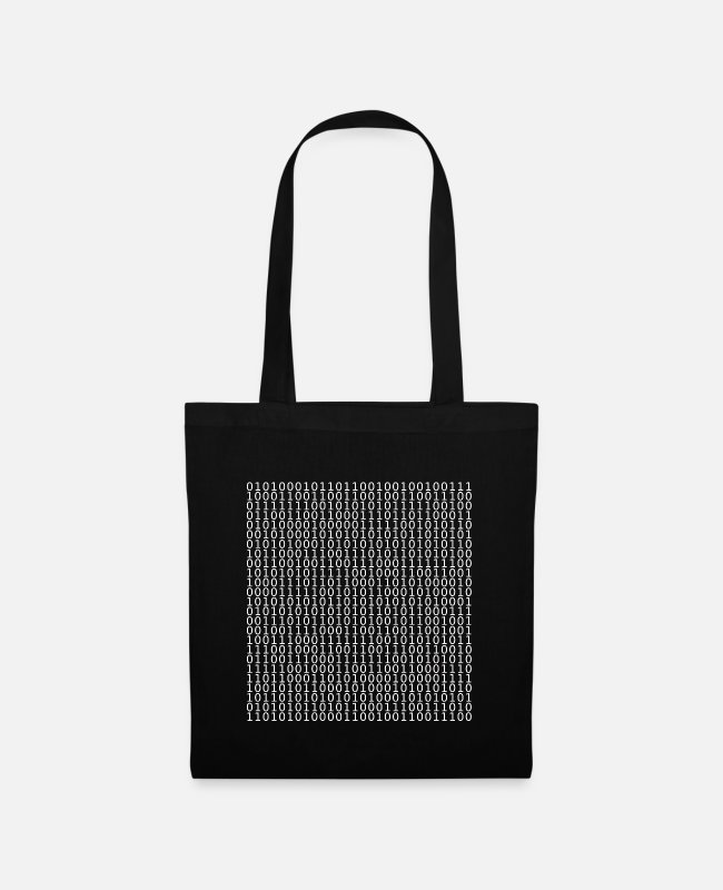 Coder Bags & Backpacks - computer - Tote Bag black