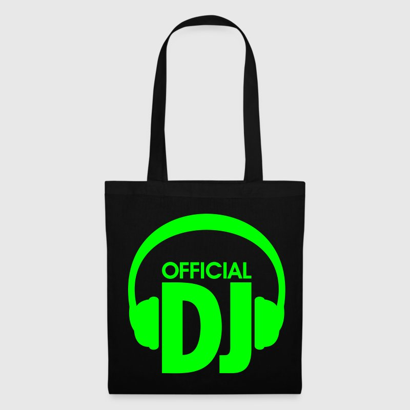 officiel DJ  -  techno dj musique  - Tote Bag