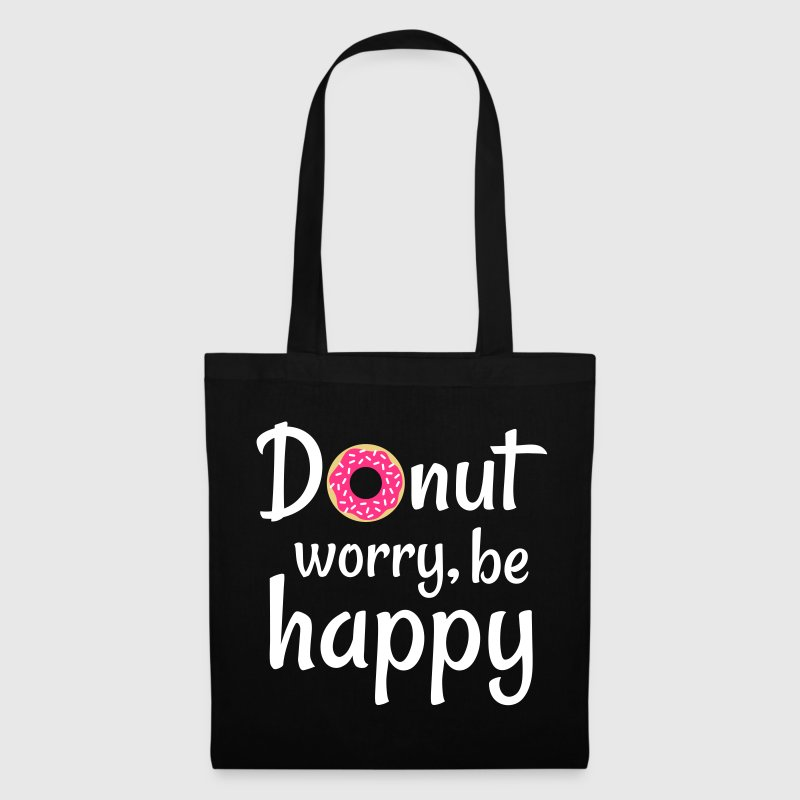 Donut worry be happy - Tote Bag
