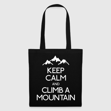 keep calm mountain garder la montagne calme Sweat-shirts - Tote Bag