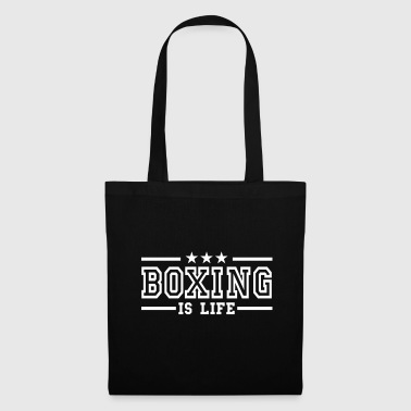 boxing is life deluxe - Tygväska
