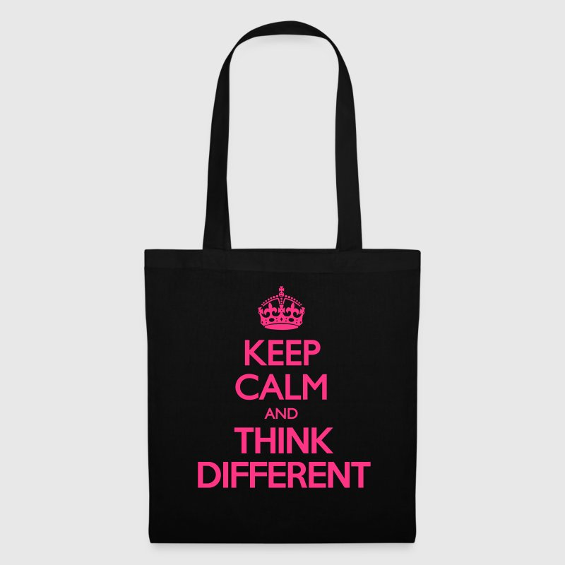 Keep Calm and Think Different - Tote Bag