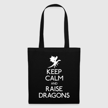 Keep calm dragons - Borsa di stoffa