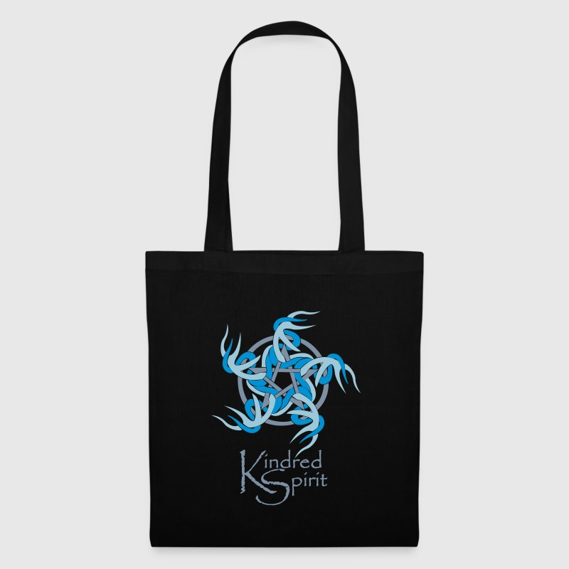 Kindred Spirit Symbol with Words - Tote Bag