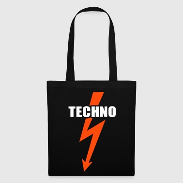 Techno music  - Tote Bag