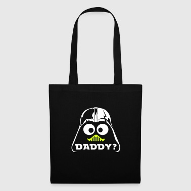geek darth daddy - Stoffbeutel