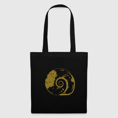 A fossil snail - Tote Bag