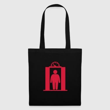 fat elevator man - Tote Bag