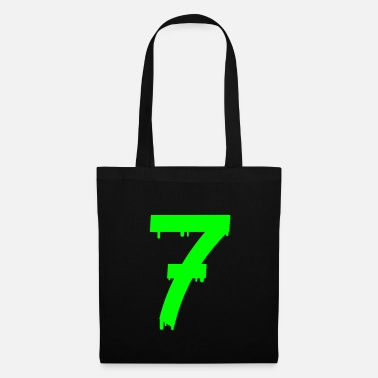 Birthday lucky number seven - Tote Bag