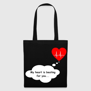 Heart gift for boyfriend or girlfriend - Tote Bag