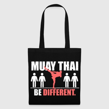 Thailandia Camicia Thai Muay - Be Different - Borsa di stoffa