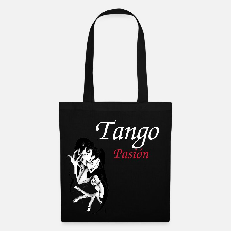 Enjoy Bags & Backpacks - Lovers Erotic Underwear - Romantic Couple - Tote Bag black