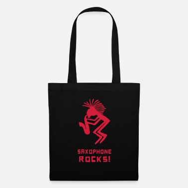 Scandinavia saxophone rocks - Tote Bag