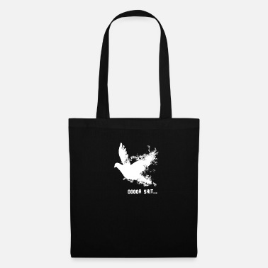 Pigeon everything goes awry, shit! - Tote Bag