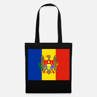 Moldova Flag of Moldova (md) - Tote Bag