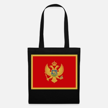 Montenegro Flag of Montenegro (me) - Tote Bag