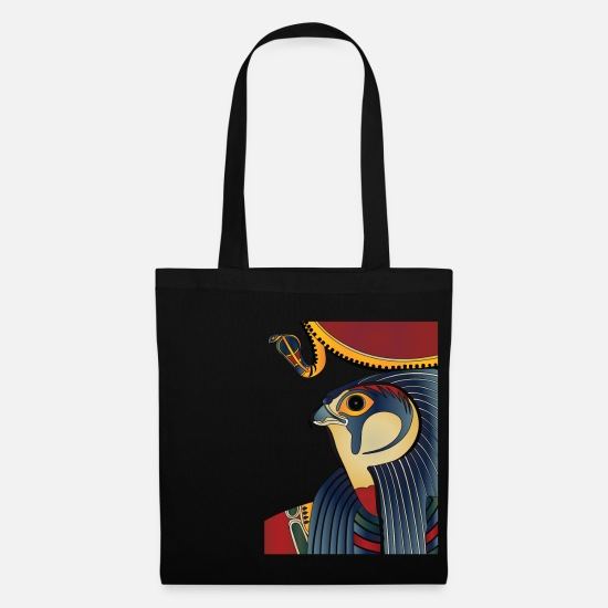 Archaeology Bags & Backpacks - Horus or Re-Harak - Tote Bag black