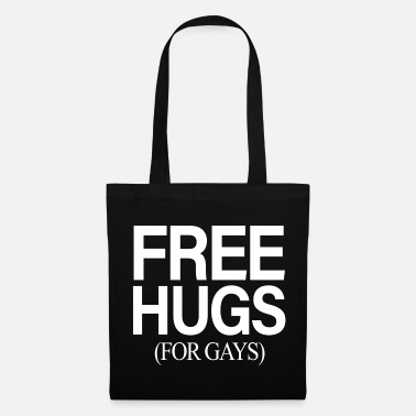 Homosexual FREE HUGS FOR GAYS Gay Homo Homosexual Gay Gend - Tote Bag