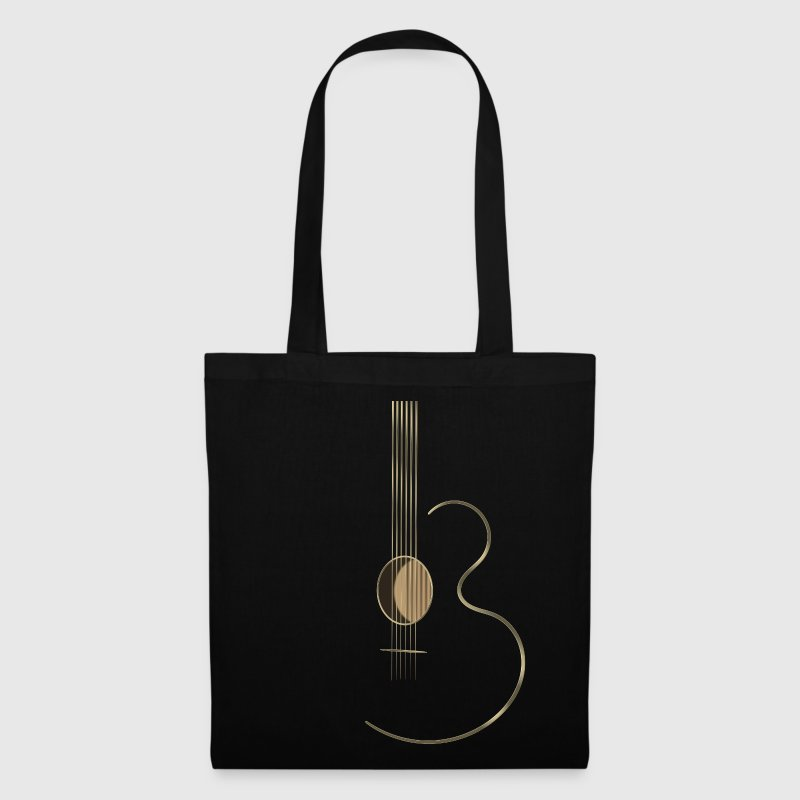 Acoustic Guitar Logo - Tote Bag