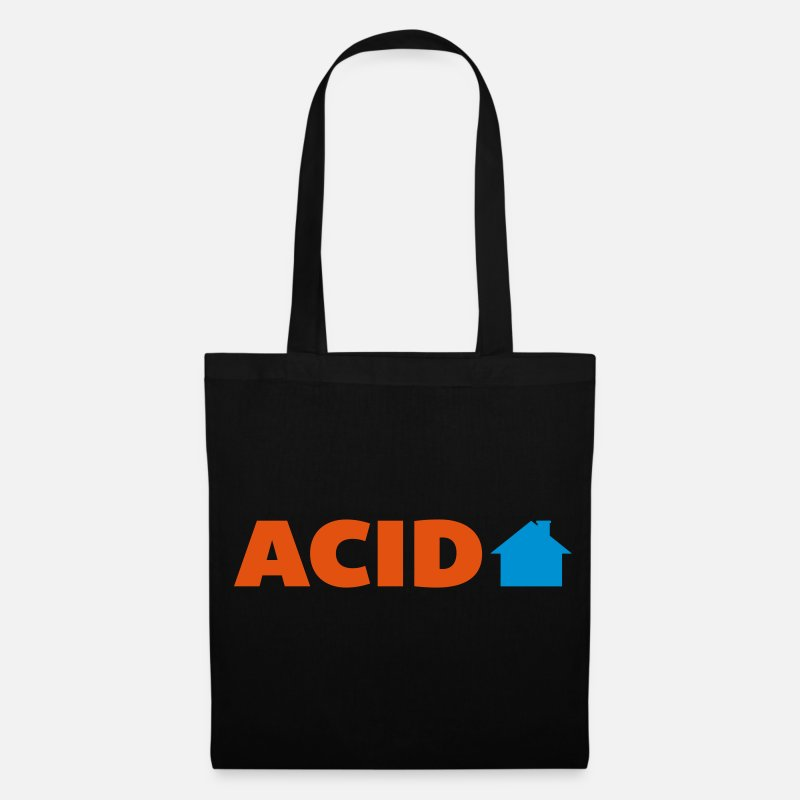 Trance Bags & Backpacks - Acid House  - Tote Bag black