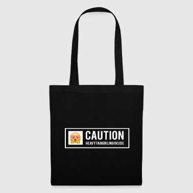 Fandom warning fangirling - Tote Bag