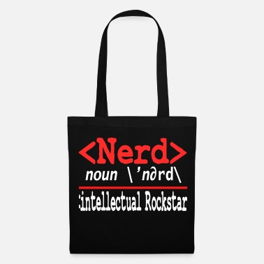 Ordinateur Geeky Nerdy Streber Math Université informatique - Tote Bag