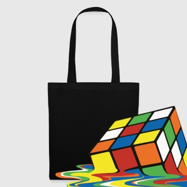 Cube Melting Cube - Tote Bag
