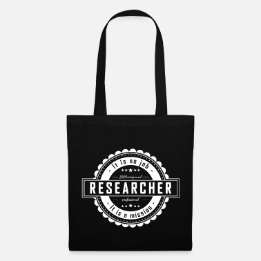 Research RESEARCHER - Tote Bag