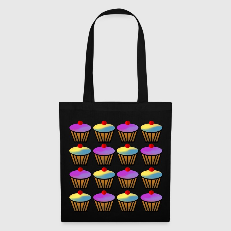 tote bag cupcakes spreadshirt. Black Bedroom Furniture Sets. Home Design Ideas