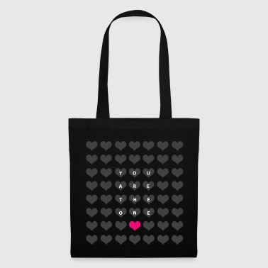 You are the one - amor día de san valentín - Bolsa de tela