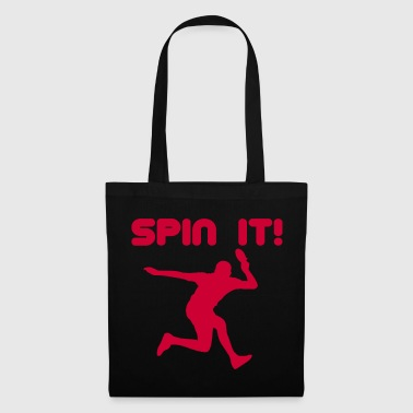 Ping-pong Ping-pong tennis de table ping-pong table de ping-pong - Tote Bag